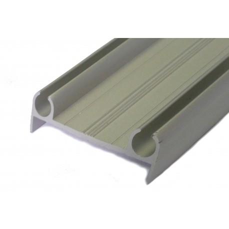 Profilé aluminium support de joint de porte va et vient