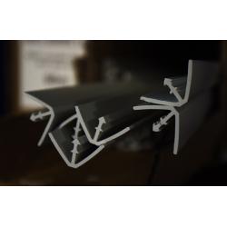 Profil d'agrafage PVC petit modèle