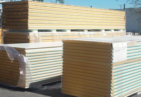 Panneaux en stock épaisseurs 40, 60, 80 et 100 mm