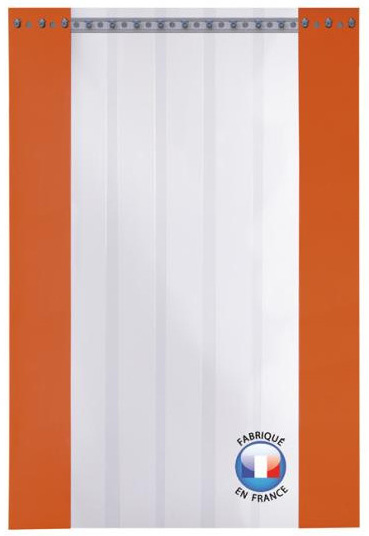 Rideau à lanières suspension composite standard