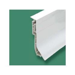 Plinthe PVC fixat° cachée, double paroi