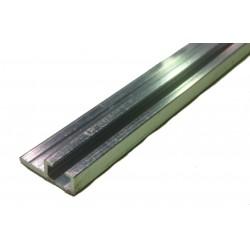 Profilé aluminium support de joint à lèvre / tubulaire