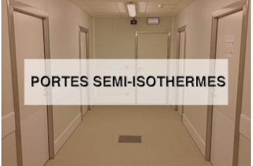 Portes semi-isothermes